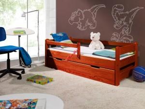 Kinderbett mit Barriere